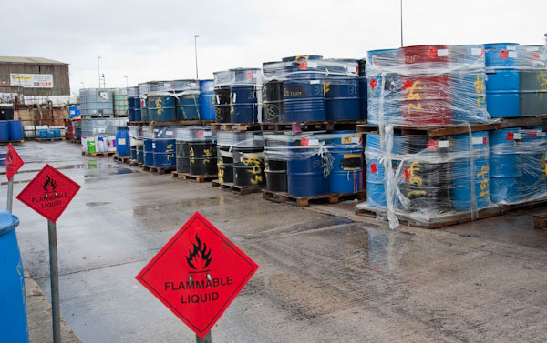 Hazardous waste management for Household hazardous waste facility design